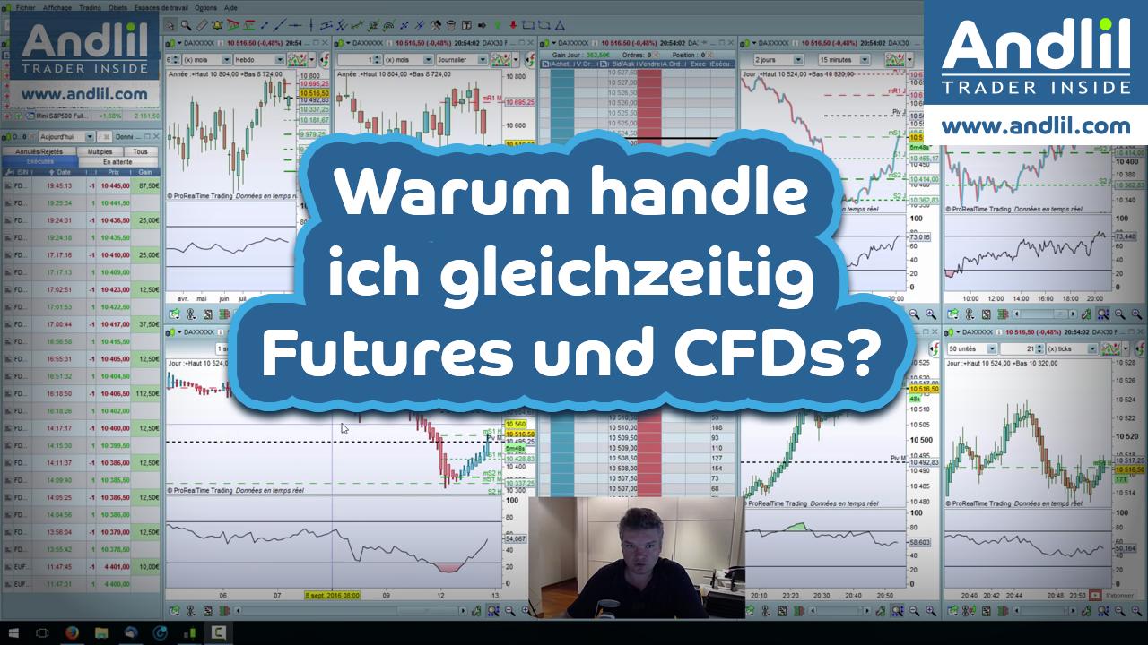 gleichzeitig futures cfds