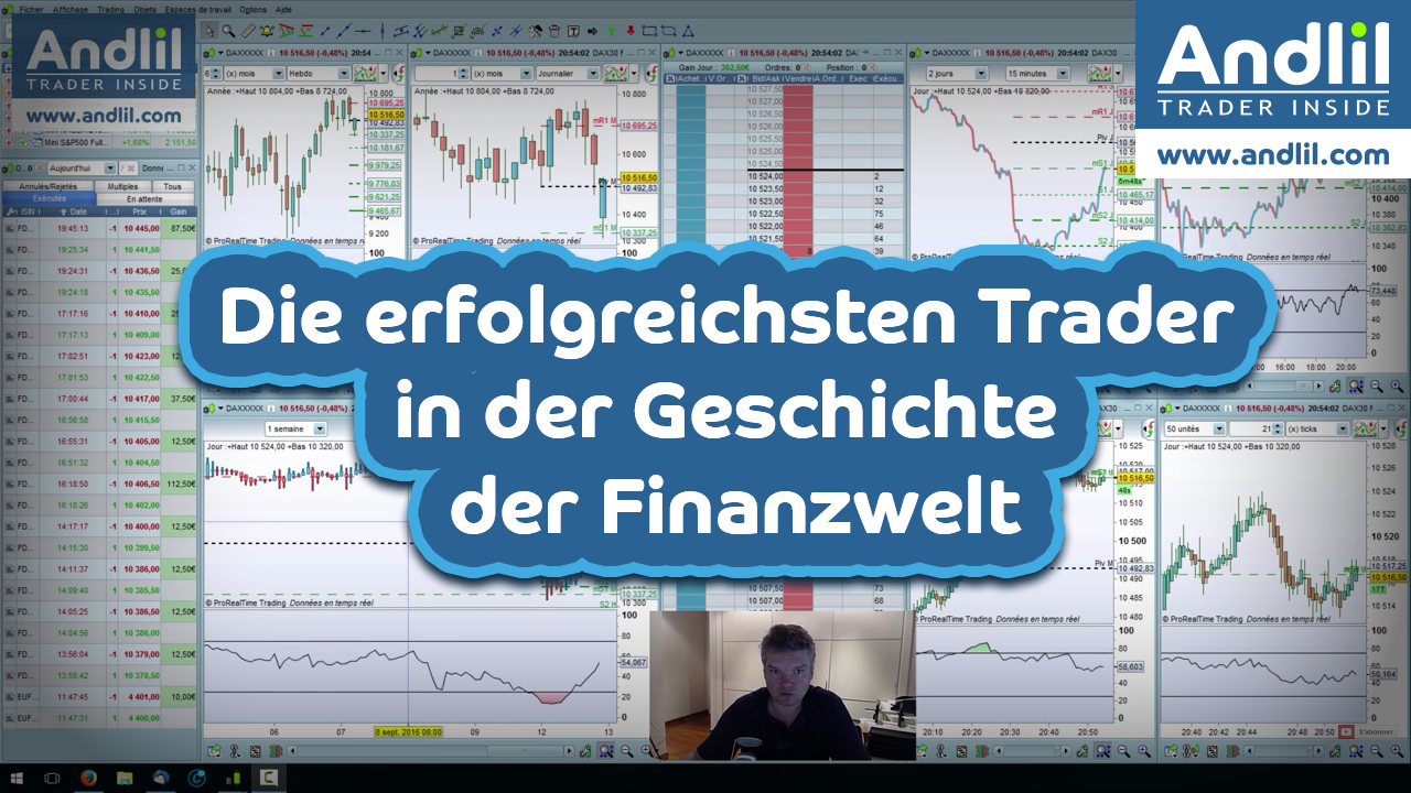 Die erfolgreichsten Trader in der Geschichte der Finanzwelt